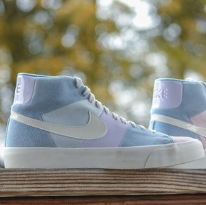 Nike Blazer Royal //Spring Patchwork